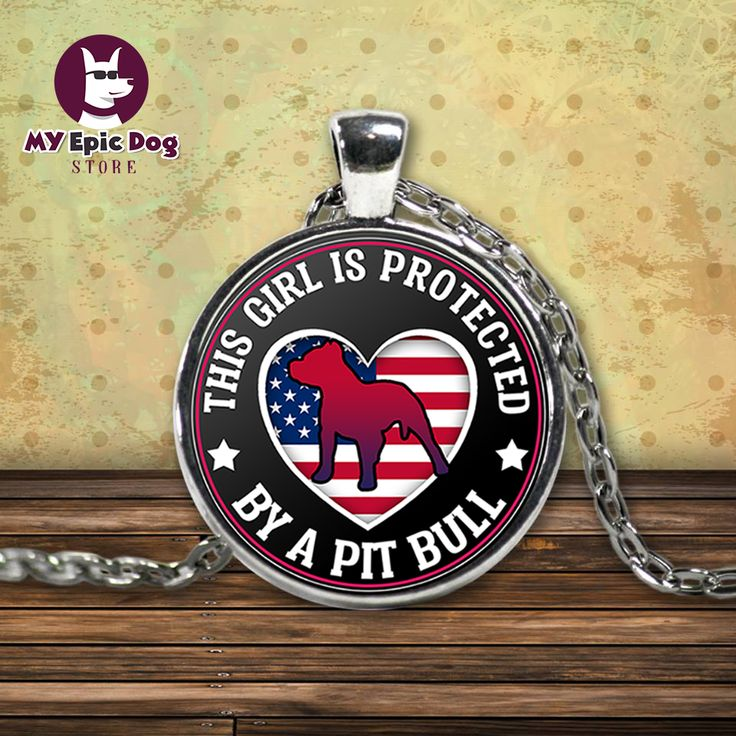 Pit Bull Protection - Necklace