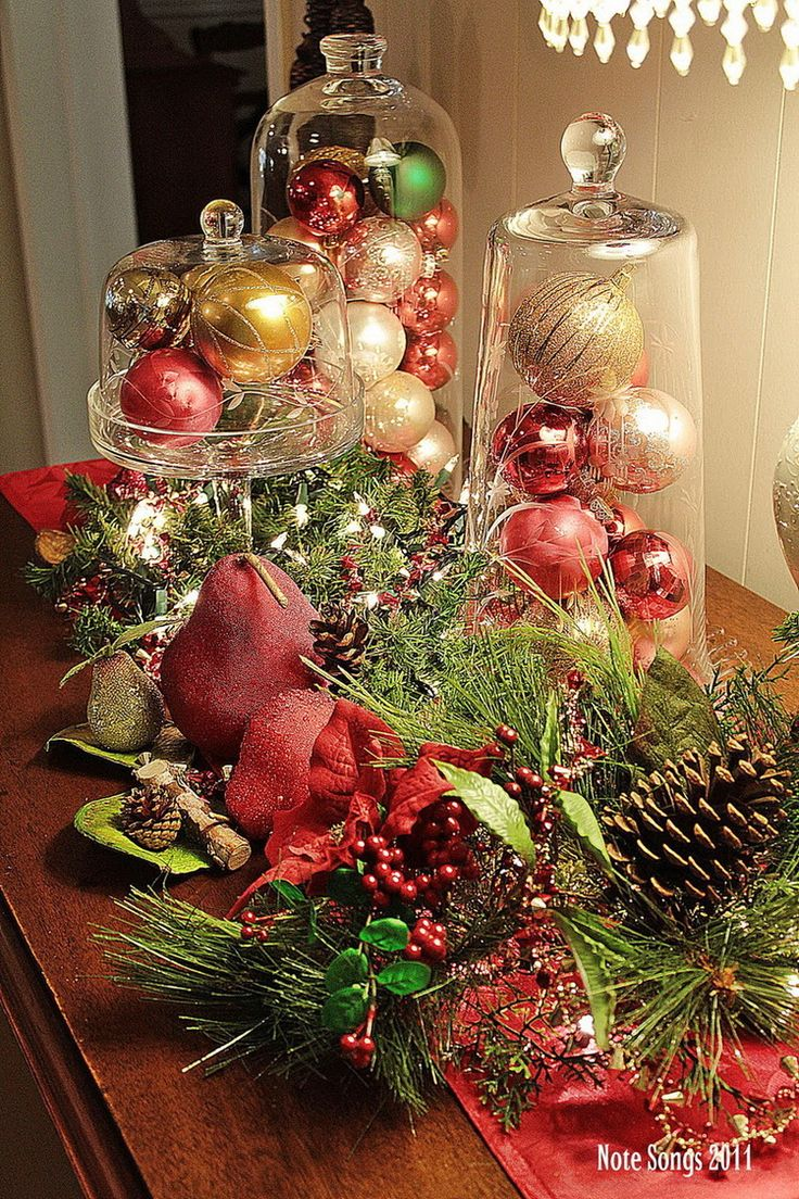 875 best christmas table decorations images on pinterest Best table decoration ideas
