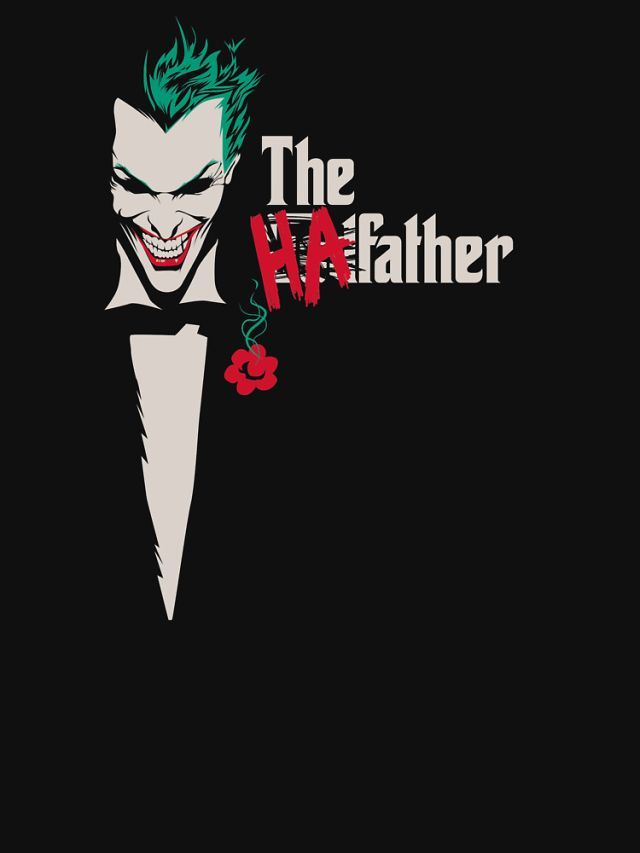 The Ha-Father T-Shirt - Joker T-Shirt is $12 today at Once Upon a Tee!