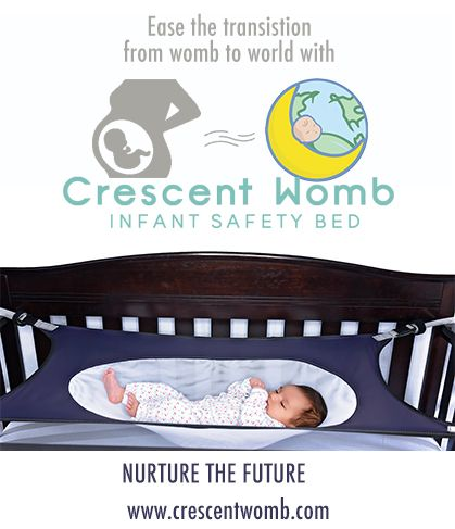 From Womb to World, The Crescent Womb Infant Safety Bed helps ensure a safe and peaceful transition. Our unique design mimics a mother's embrace for safe sleep for baby and peace of mind for parents. Rest. Assured