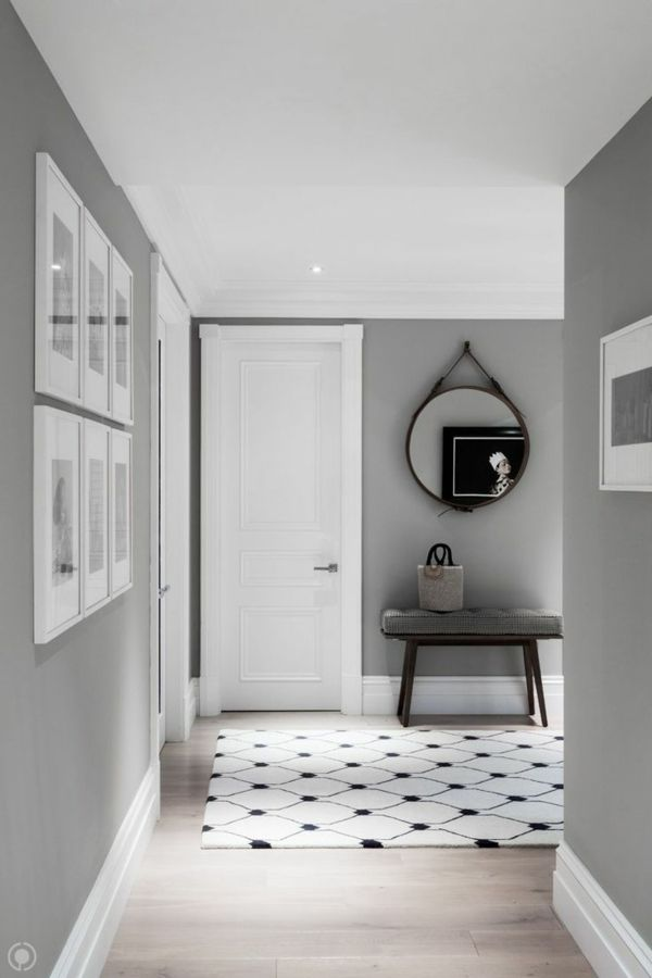 Best 25+ Hallway Paint Design Ideas On Pinterest | Grey Hallway
