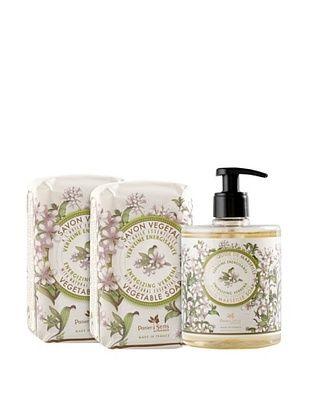 50% OFF Panier des Sens Energizing Verbena Liquid Soap and Vegetable Soaps, Set of 3