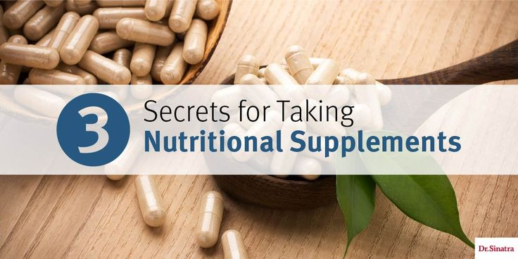 Discover Dr. Sinatra's top nutritional supplements secrets, including when to take your vitamins, foods you should (and should never) take with your supplements, and more.