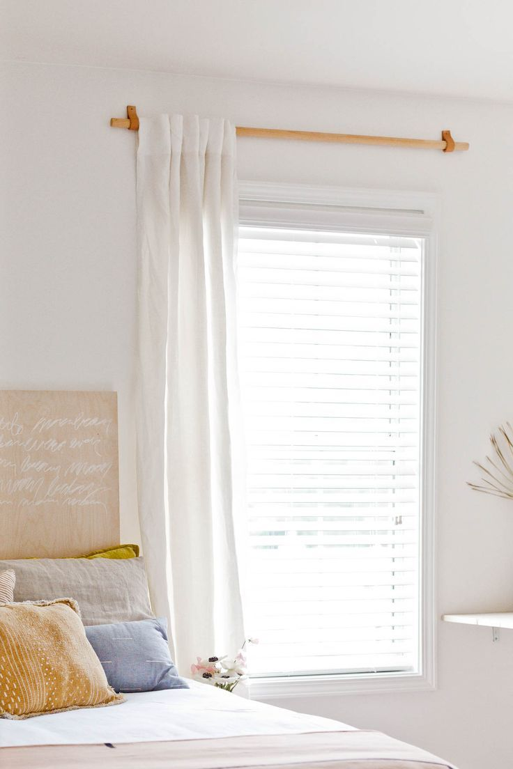 How To Make A Simple Curtain Rod For Less Than 10 Mit Bildern