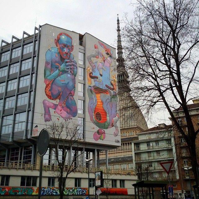 #Torino #Italia #MoleAntonelliana #CorsoSanMaurizio #wallart