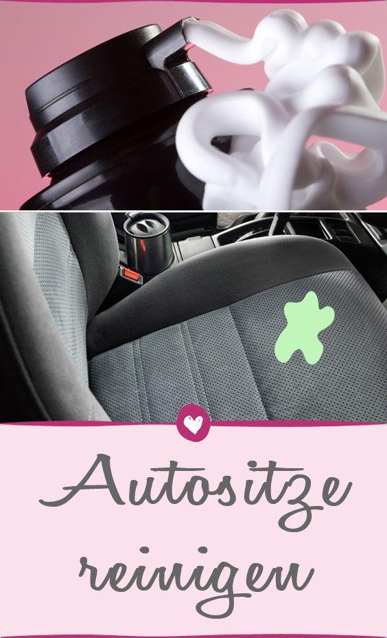 Wer dreckige Autositze reinigen will, muss dafür keinen teuren Reiniger kaufen: Diese Hausmitteln helfen.