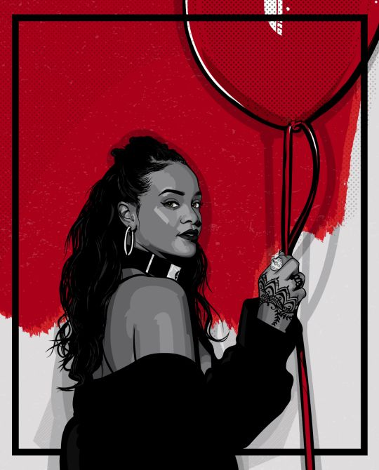 54 best RIHANNA images on Pinterest | Dope art, Black art ...