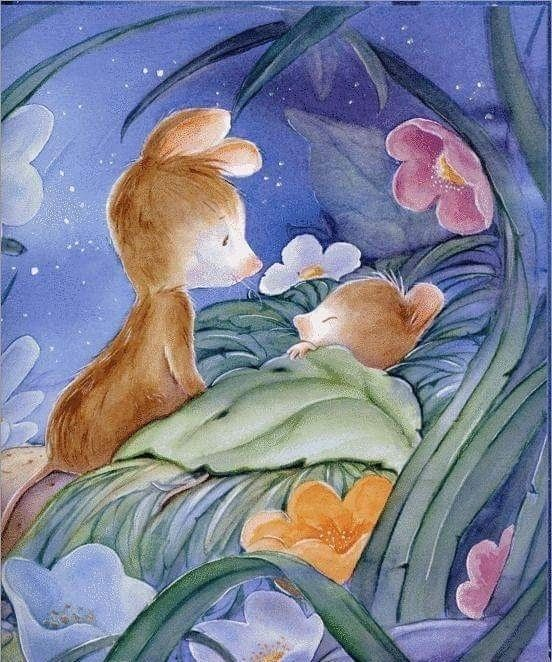 Картинка с мышами спокойной ночи, форуме
