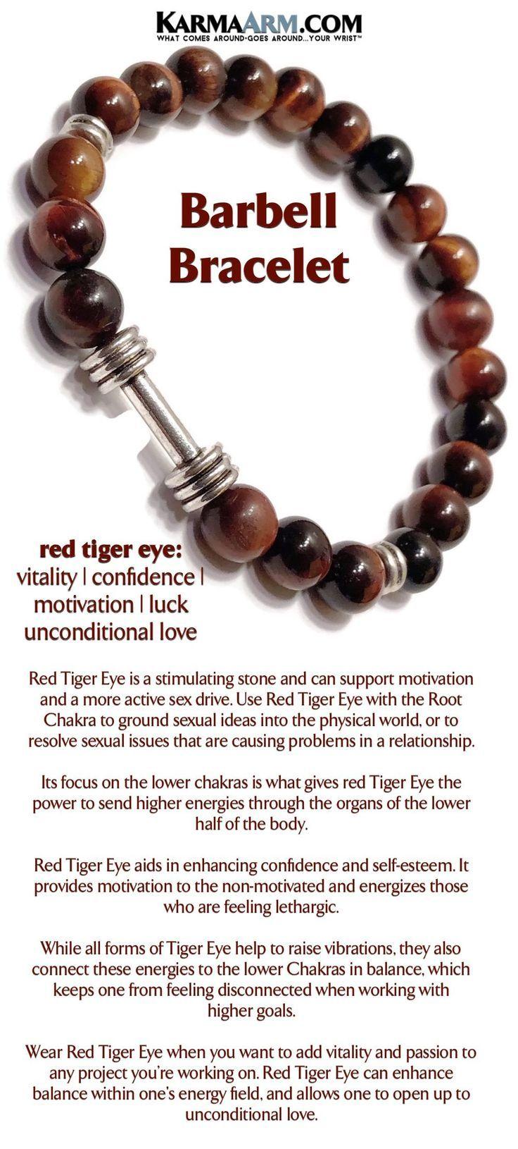 Red Tigers Eye KarmaArm Lucky Bracelets Good Luck Beaded Reiki Yoga Chakra Bracelet Meditation Jewelry Boho Stretch Bracelets
