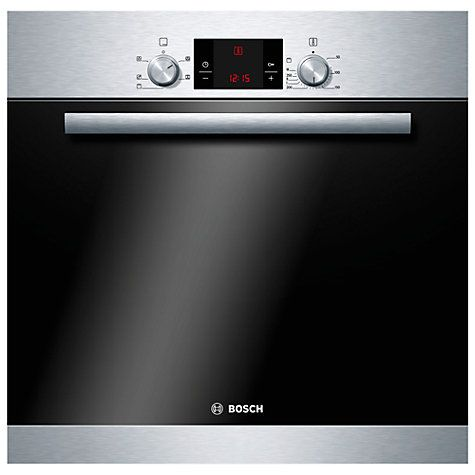 Buy Bosch HBA13B150B Single Electric Oven, Brushed Stainless Steel Online at johnlewis.com