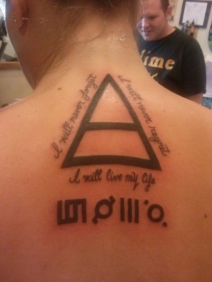 My new Tattoo by John Pugsley of Darkside Tattoo. Long live the Echelon!