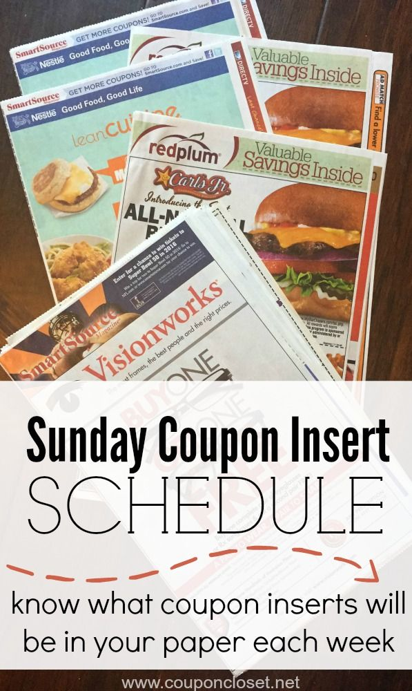 Snag a Los Angeles Times Subscription (Sunday Only) for only $! I did a search online, and it appears this paper gets all the coupon inserts, even the rare regional ones! It is very popular amoungst couponers for that reason.