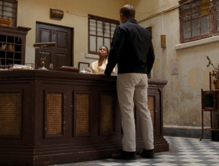 For his trip to Haiti in Quantum of Solace, James Bond wears a blackpique-knit polo shirt by Tom Ford with a small rounded breast pocket and a two-button placket. The polo has a tight fit and very short sleeves to show of Daniel Craig's muscles. The Polo is very similar to what Sunspel made for …