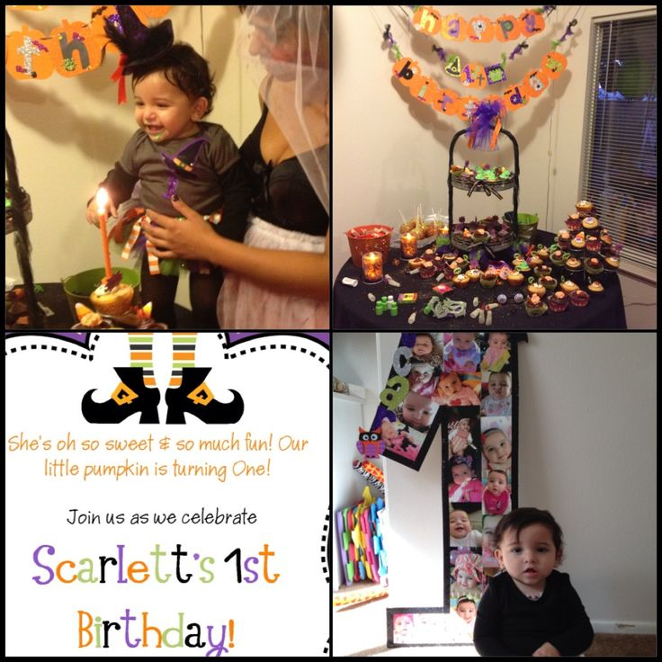 halloween birthday party - Baby Halloween Birthday Party