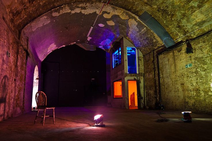 Apples and Snakes at the Old Vic Tunnels. applesandsnakes.org