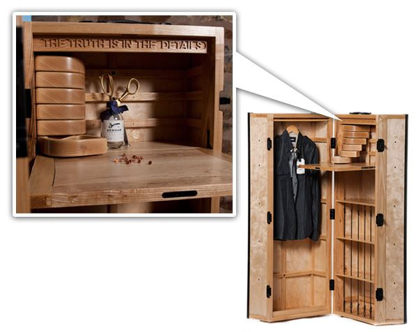 """Method Furniture - The Journeyman steamer trunk. """"The truth is in the details."""""""