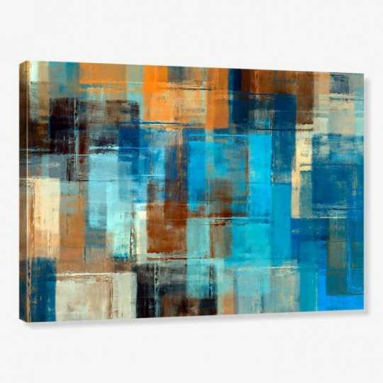 Quadro de Parede - Tela em Canvas 100x70cm Abstrato 2241
