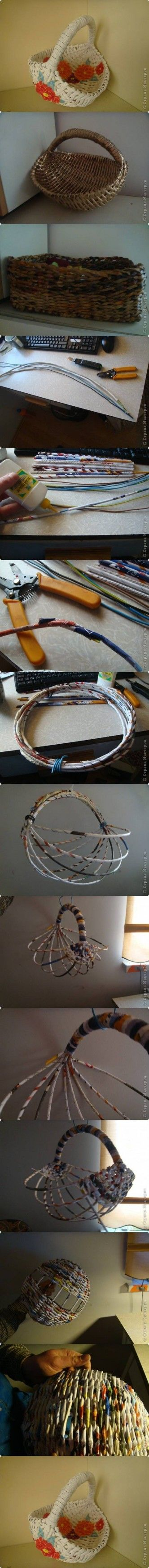 DIY Handmade Basket DIY Projects
