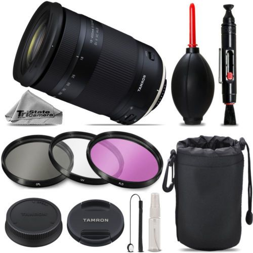 Tamron 18-400mm VC Lens for Canon - Must Have Essentials Kit For Canon EOS REBEL