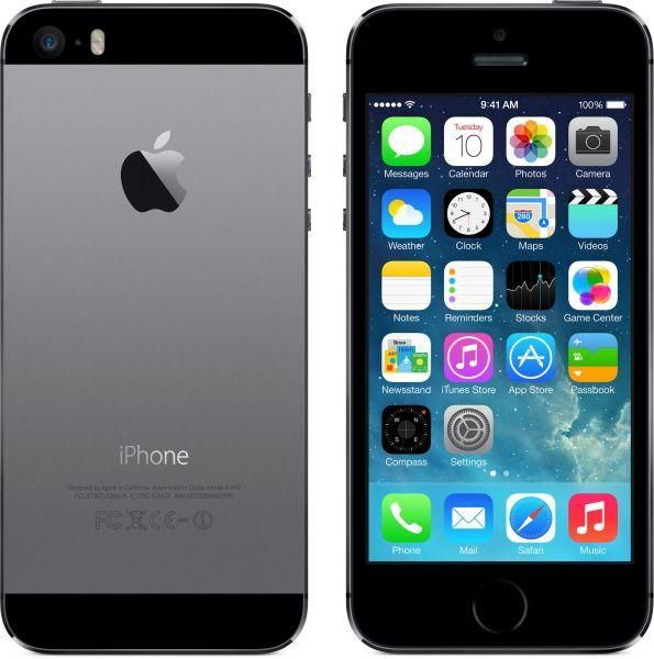 "iPhone 5s.  I think I'm the only female who prefers the ""black"" iPhone."