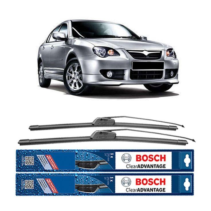 "Bosch Sepasang Wiper Frameless New Clear Advantage Mobil Proton Persona 21"" & 19"" - 2 Pcs/Set  Frameless Umur Pakai & Daya Tahan Lebih Lama Penyapuan kaca yang senyap Performa Sapuan Optimal Instalasi Mudah & Cepat Original Produk Bosch  http://klikonderdil.com/frame-less/1054-bosch-sepasang-wiper-frameless-new-clear-advantage-mobil-proton-persona-21-19-2-pcsset.html  #bosch #wiper #jualwiper #frameless #proton"
