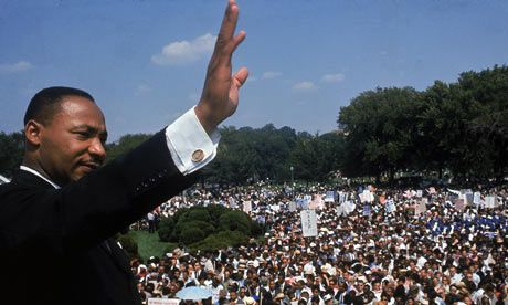 Martin Luther King's condemnation of US militarism