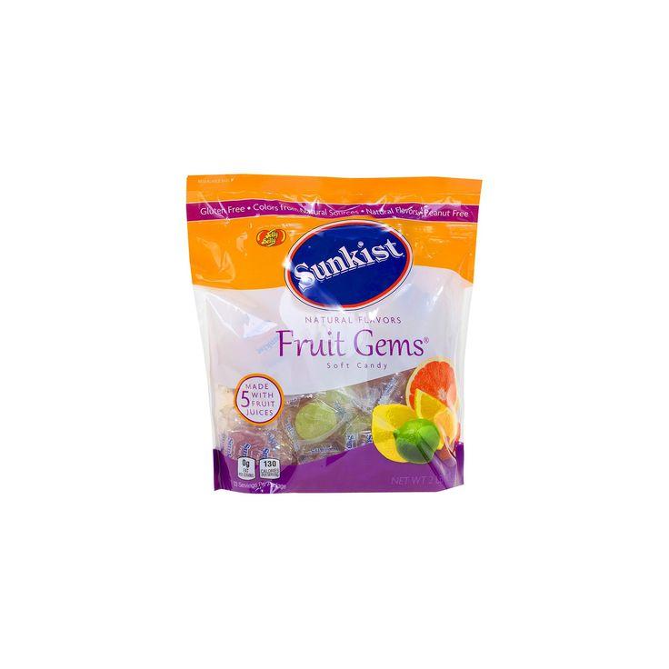 Sunkist Fruit Gems Gummy Candy 32 oz,