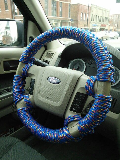 Paracord Steering Wheel Wrap Things I Made Truck Rims