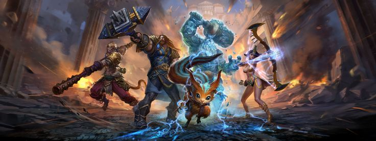 Smite Xbox One Review - IGN