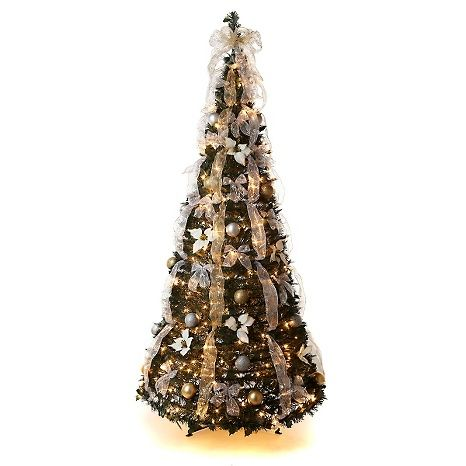 Winter Lane Christmas Trees