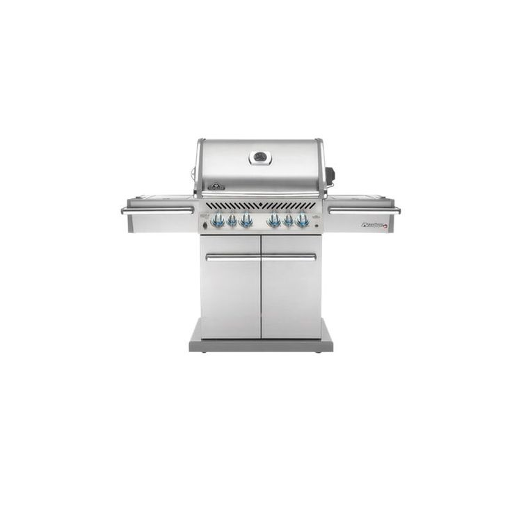 Napoleon PRO500RSIBNSS Prestige Freestanding 6 Burner Natural Gas Grill with Inf Stainless Steel / Natural Gas Outdoor BBQ Grill Freestanding