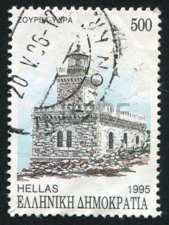 GREECE - CIRCA 1995: stamp printed by Greece, shows Zourva, circa 1995