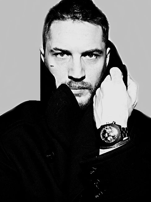 Tom Hardy | by Rankin