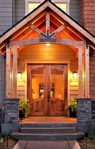 Front Porch Designs | Front Porch Ideas / niiiiice