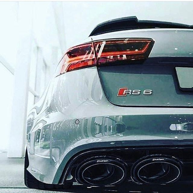 RS6. My car. Best car ever. Love it.