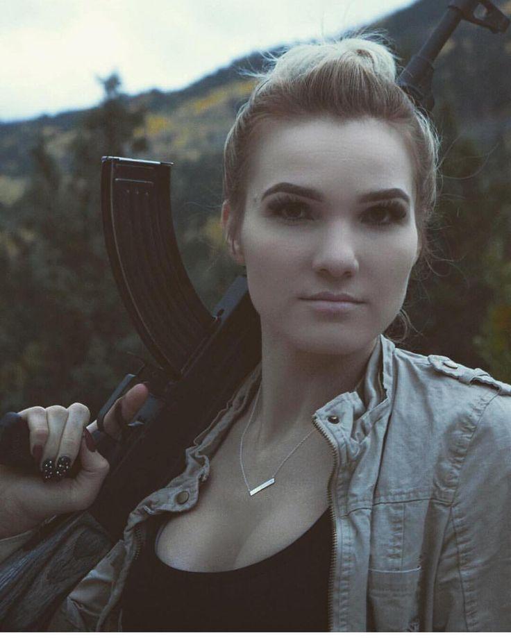 L i v e  t h e  L i f e s t y l e  Keep it quite #triggernazis because #russia  Via @brandonbeecher  This is my Russian wife with an AK47. - - - #weapons #weapon #weaponsdaily #rifle #weaponsfanatics #igmilitia #ar15 #ak47 #sickguns #secondamendment #dailybadass #firearms #firearmphotography #guns #gun #gunsdaily #gunsofinstagram #girlswithguns #kalashnikov #pewpew #pewpewlife #slingersclub