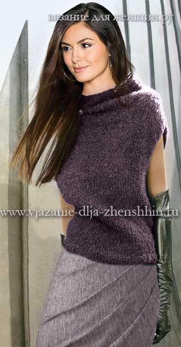 Модная модель вязания 2016