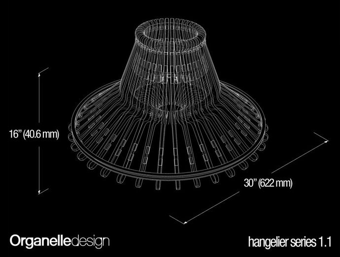 Recycle! Creative Lamp Using Wood or Plastic Clothes Hangers | http://www.designrulz.com/product-design/2012/09/diy-lamp-using-wood-and-plastic-clothes-hangers/