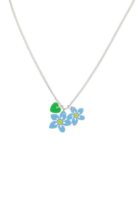 Forget Me Not Charm Necklace - Blue £30 (sale £15) - Contemporary 2014