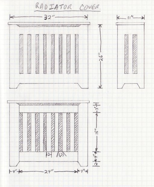 40 best radiator cover images on pinterest radiator ideas diy energy efficient radiator cover ccuart Gallery