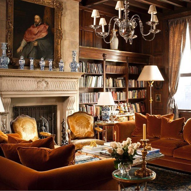 Rich Interiors Inside A Beautiful Country Estate With Images