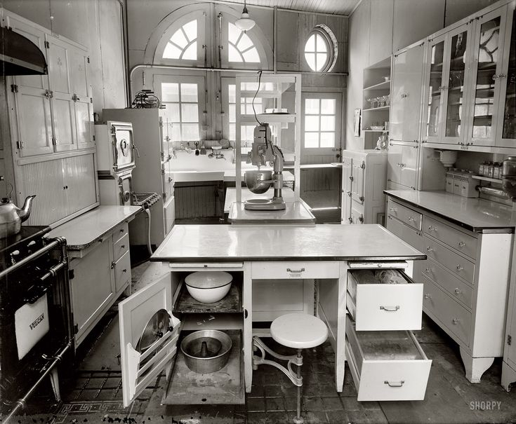 170 Best Early 1900s Kitchens Images On Pinterest