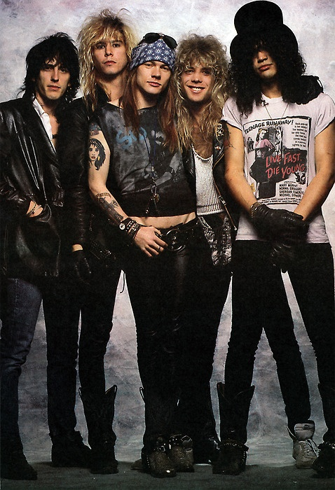 Guns N' Roses. I could and still can name you every song word for word on the greatest hits album.