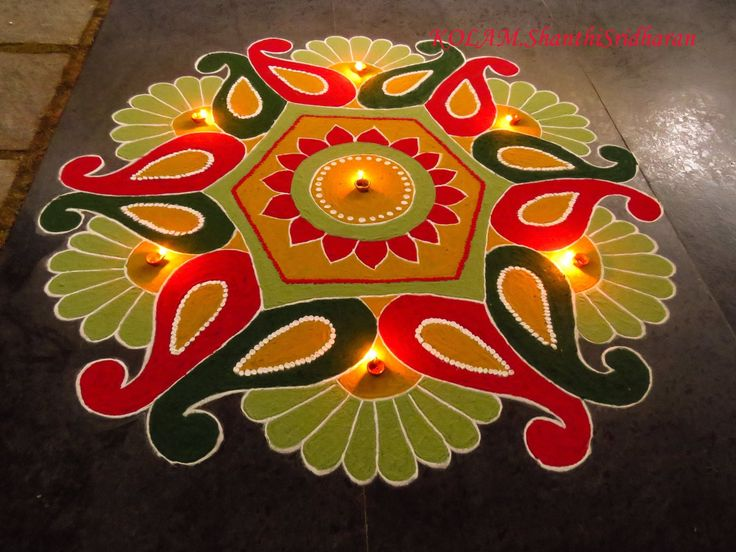 Best rangoli images on pinterest flower making