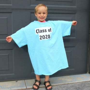 How sweet it'll be to watch the shirt get smaller and smaller every year as this little tyke grows b... - Mom.me