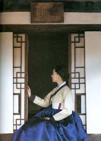 한복 (韓服)   hanbok, Korean traditional clothes(dress)