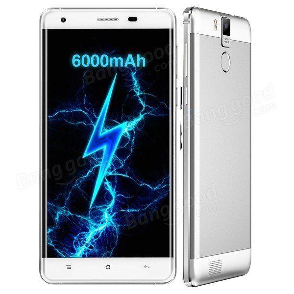 EU Warehouse | OUKITEL K6000 Pro 5.5-inch 6000mAh Fingerprint 3GB RAM MT6753 Octa-core 4G Smart