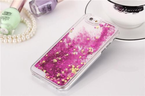 Hot-Sale-Bling-Glitter-Water-Sparkly-Stars-Hard-Case-Cover-For-Cell-Smartphones