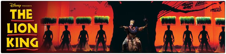 Well we do love lions. THE LION KING Tickets | London Tickets