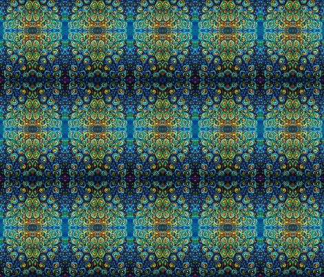 Peacock's tale fabric by natyceccato on Spoonflower - custom fabric